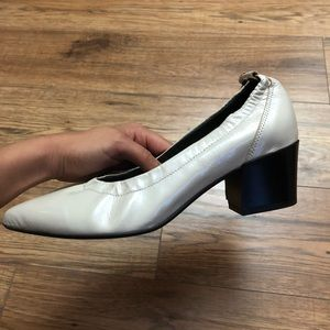 ASOS patent leather block heels
